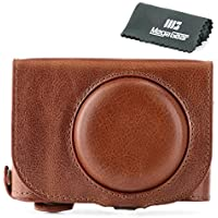 MegaGear Ever Ready Genuine Leather Camera Case - Easy to Install, Tripod and Peripheral Friendly Accessory - Compatible with Leica C Typ 112