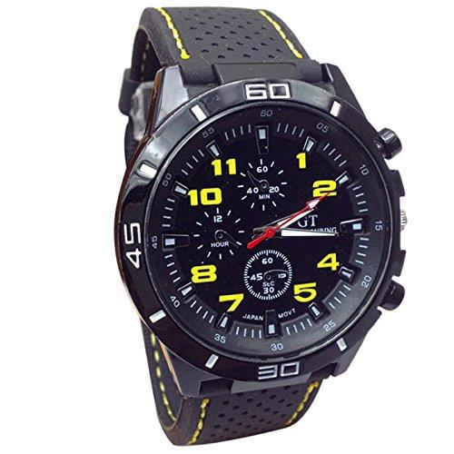 ... Sport Wristwatch Silicone Fashion Hours-YL-Relojes Inteligentes relojero Reloj reloje hombresRelojes de Pulsera Marcas Deportivos: Amazon.es: Relojes