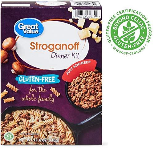 Great Value Gluten-Free Stroganoff Dinner -