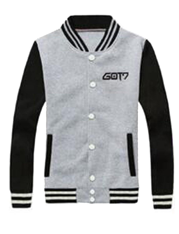 GOT7 Sweatshirt Baseball Uniform Pullover Sweater
