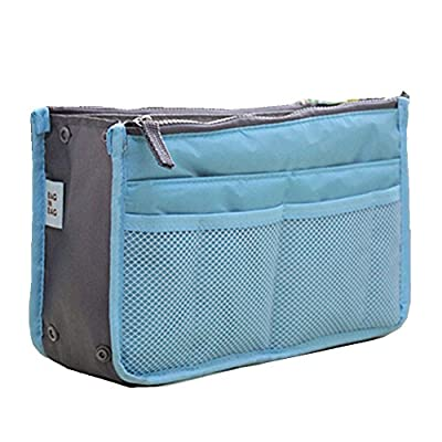 Best Cheap Deal for Japanese Cosmetic Bag Zipper Makeup Case Necessaries Travel Bag-In-Bag Random Color by China - Free 2 Day Shipping Available