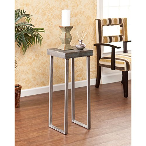 Wood Slice Accent Table: Live-Edge Wood-Slice Coffee Table, Side Or End Table