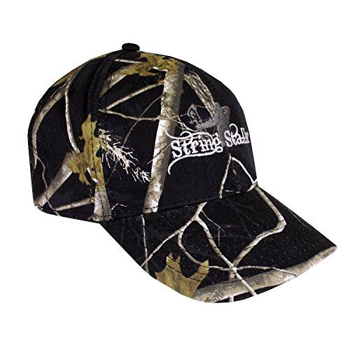 - String Stalker Black Realtree Bow Hunting Hat