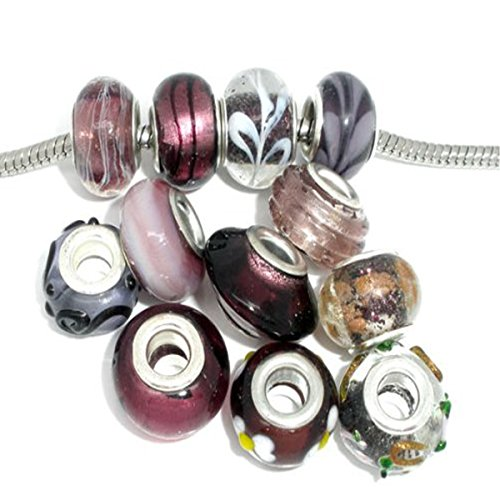 Glass Bead Bracelets - 6