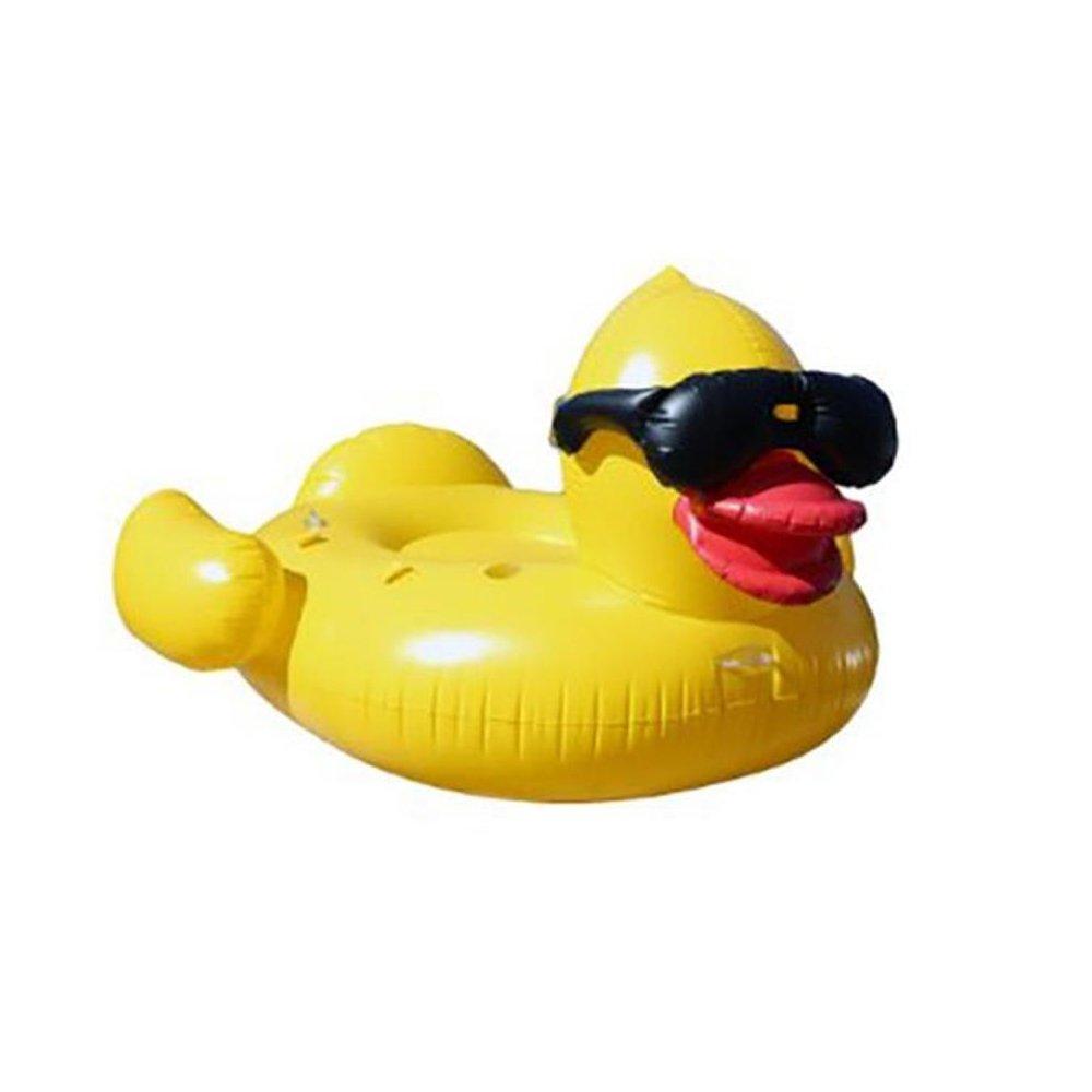 100% autentico 0℃ Outdoor Piscina Inflable Gigante Amarilla del Pato Que Flota, Flota, Flota, Fiesta Al Aire Libre Grande Que Flota Paseo Paseo De Los Niños Adultos del Salón Juguete  calidad auténtica