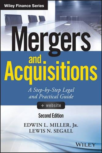 Mergers And Acquisitions    Website  A Step By Step Legal And Practical Guide  Wiley Finance