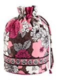 Vera Bradley Ditty Bag in Mocha Rouge, Bags Central