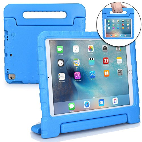 Cooper Dynamo [Rugged Kids Case] for iPad Air 3rd Generation, iPad Pro 10.5-inch | Protective Child Proof Cover, Stand, Handle, Screen Protector (Blue)