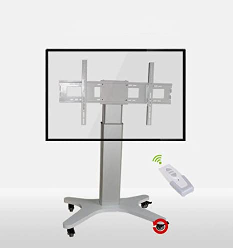 XUEXUE Soporte para TV móvil, carro de TV para pantallas planas de 50 a 84 pulgadas