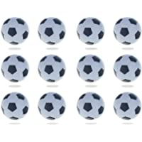 PMLAND Foosballs for Tabletop Foosball Table Home Fun Play -Pack of 12, Size 32mm (1.25 Inch)
