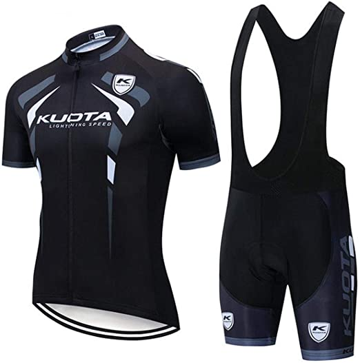 MMSM Maillot Ciclismo Hombre, Ropa Ciclismo y Culotte Ciclismo con ...