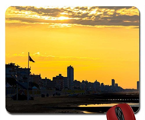 After Sunrise in Jesolo, Italy wallpaper mouse pad computer mousepad