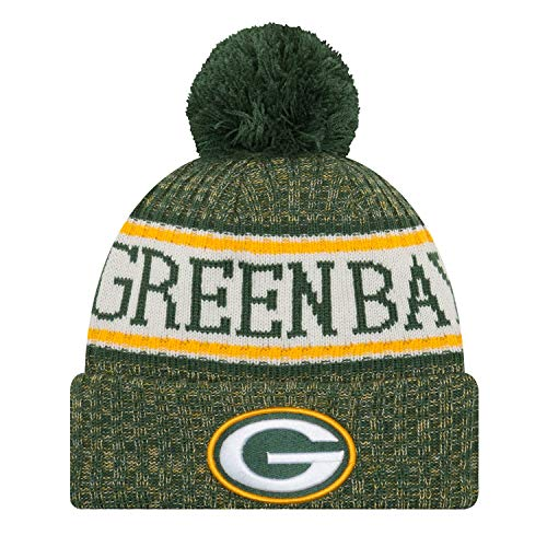 New Era Green Bay Packers NFL 2018 On Field Sport Knit