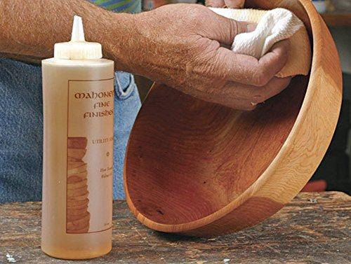 Ultimate Walnut Oil by Mahoney's Finishes: Food Safe Wood Finish for Satin Sheen/ Easy To Use, FastDrying Wood Protective Finish/ Salad Bowl, Cutting Board, Utility and Furniture Walnut Wood Protectant by Bowl Maker (Image #3)