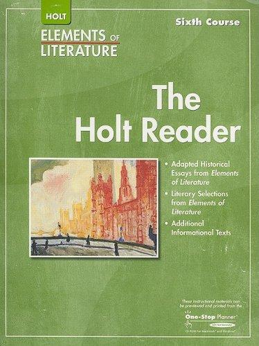 Elements of Literature: Reader Grade 12 Sixth Course