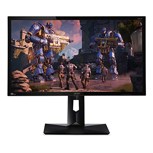 "Acer CB281HK Abmiiprx 28"" Ultra HD 4K2K (3840 x 2160) TN Monitor with AMD FREESYNC Technology (Display Port 1.2 & 2 - HDMI 2.0 Ports)"