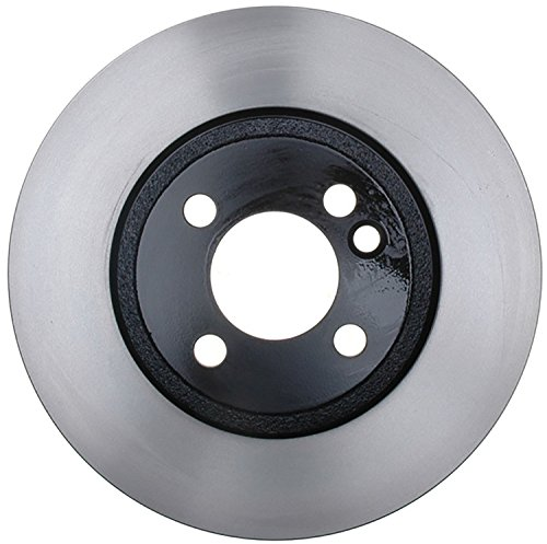 (ACDelco 18A2689A Advantage Non-Coated Front Disc Brake Rotor)