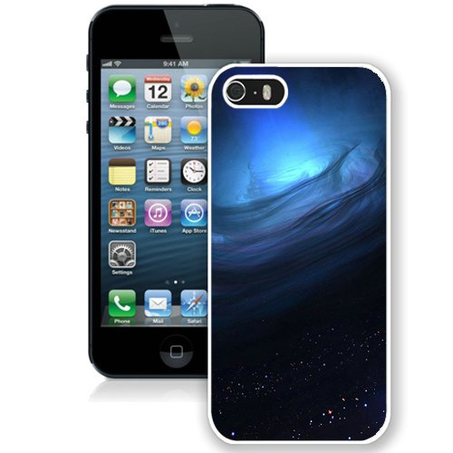 Coque,Fashion Coque iphone 5S Noir Hole 3D Render blanc Screen Cover Case Cover Fashion and Hot Sale Design