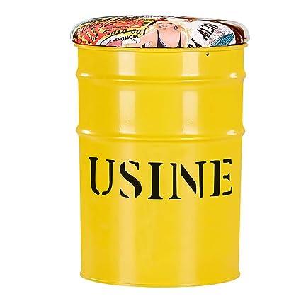 Taburete del tambor de aceite, silla del almacenamiento de ...