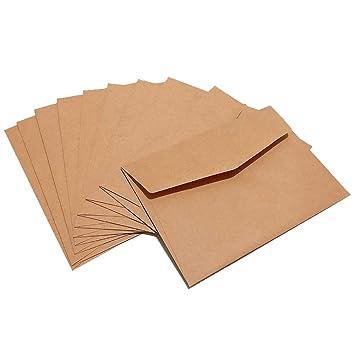 Amazon.com: MyLifeUNIT - Sobres pequeños de papel kraft para ...