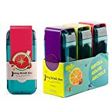 Asobu Juicy Drink Box The Ultimate Unbreakable Reusable 10oz Water Bottle for Kids Bpa Free (Blue Red Purple)