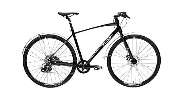 CLOOT Bicicleta Urbana o de Paseo Tourning 700x Negra con Frenos ...