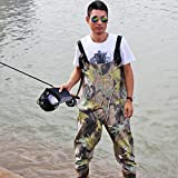 Sougayilang Boot-Foot Chest Waders Waterproof Fishing Hunting Boot Waders (#10)