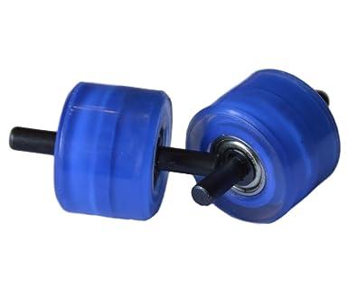 Ruedas de recambio para zapatillas automáticas - Color azul: Amazon.es: Zapatos y complementos