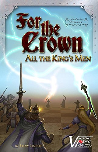 For the Crown variant: All the King's Men - Fantasy Deckbuilding boxed board game