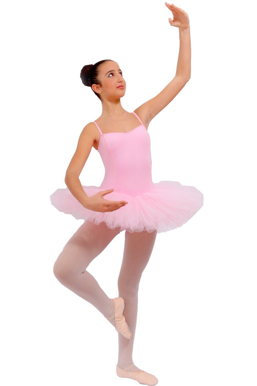 Ballet leotard Tutù 6 capas. rosa Talla:36: Amazon.es: Deportes y ...