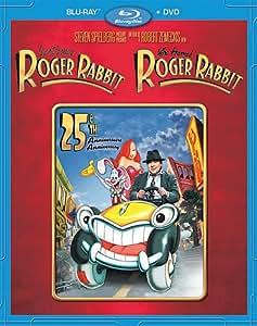 Qui veut la peau de Roger Rabbit / Who Framed Roger Rabbit: 25th Anniversary Edition Blu-ray Combo (Blu-ray + DVD) Bilingue (Version française)