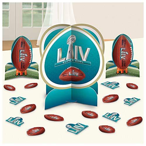 amscan Super Bowl LIV Table Decorating Kit (23pc)