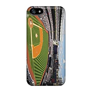 Shock Absorption Hard Phone Case For Iphone 5/5s With Allow Personal Design Nice New York Yankees Pictures JamieBratt