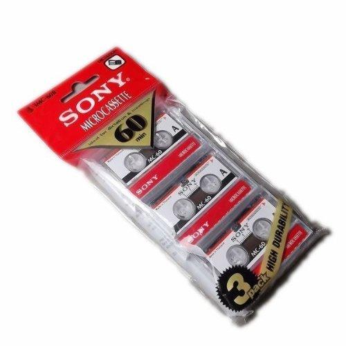 Sony 3MC-60B Microcassette - 3