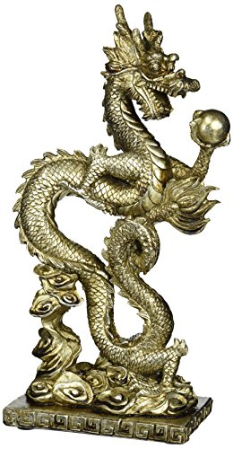 chinese-silver-dragon-serpent-statue-sculpture-table-art-decor-d13363