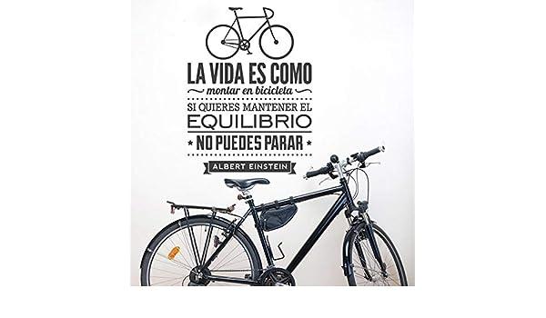 Mural ZOZOSO Vinilos Decorativos De Bicicletas Decoración Del ...