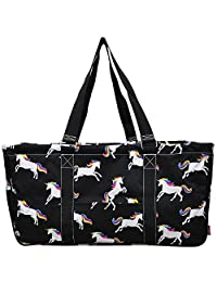 "N. Gil All Purpose Open Top 23"" Classic Extra Large Utility Tote Bag 4 - 2017 Fall New Pattern"