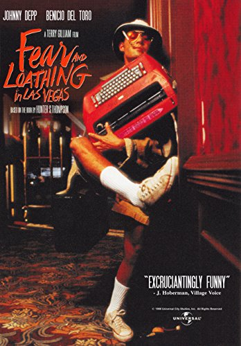Fear and Loathing in Las Vegas (1998) Movie Poster - Shop Las Vegas And Loathing Fear In