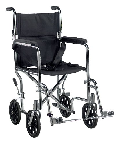 Drive Medical TR19 Transport Chair, 19 Inch by Drive Medical