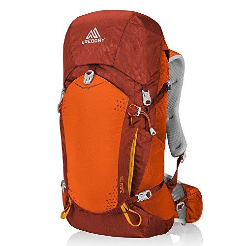 Gregory Zulu 35 Backpack, Burnished Orange, Medium ()