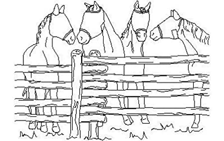 Suitability 7700 Horses Fly Mask Equestrian Sewing Pattern: Amazon ...