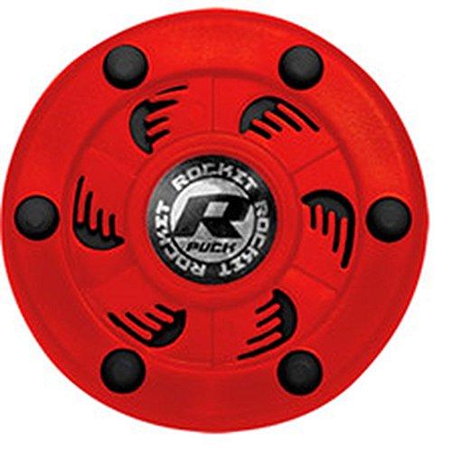 Rocket Inline Hockey Puck (Red/Black)