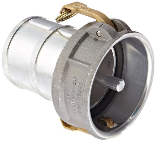 Dixon 400-CVR-AL Aluminum Cam and Groove Hose Fitting, Vapor Recovery Coupler with Probe, 4