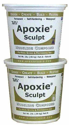 Apoxie Sculpt 3Lb. Super White Epoxy Clay by Aves