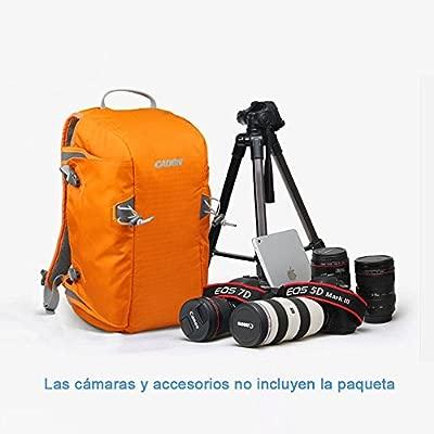 BESTEK 2 en 1 Viaje Montañismo Mochilla y ajustable partición ...