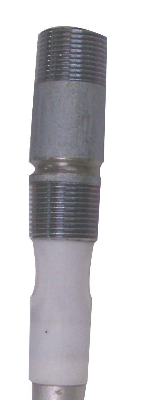 Blue Lightning Aluminum / Zinc Flexible Anode Rod, Nipple Fitting, 42''
