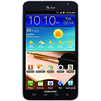 Samsung Galaxy Note I717 16GB 4G LTE GSM Android Phone - Carbon Blue (AT&T version)
