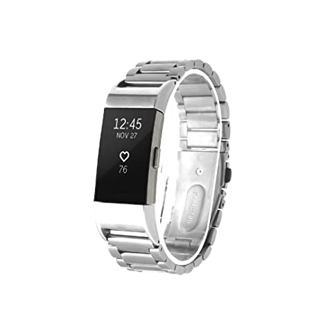 Fitbit Charge 2 Acero inoxidable Correa de reloj / banda de / cadena de reloj / watch band, ...