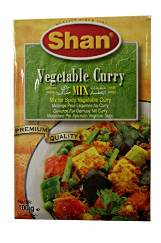 Shan Vegetable Curry Mix (Masala) 100g