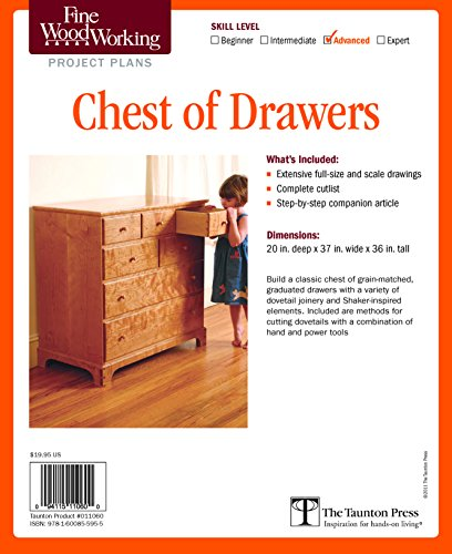 - Fine Woodworking's Chest of Drawers Plan